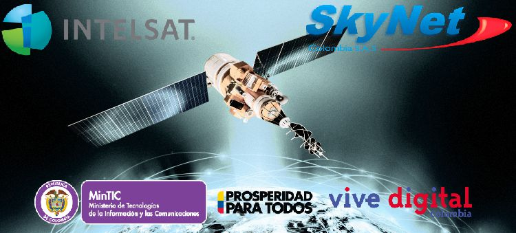SkyNet Mintic Intelsat